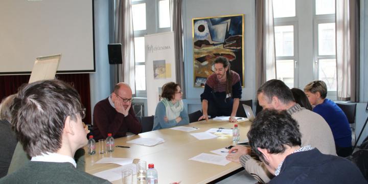 Een ontmoeting tussen het Rijksarchief en de universiteiten rond het thema 'digitalisering'