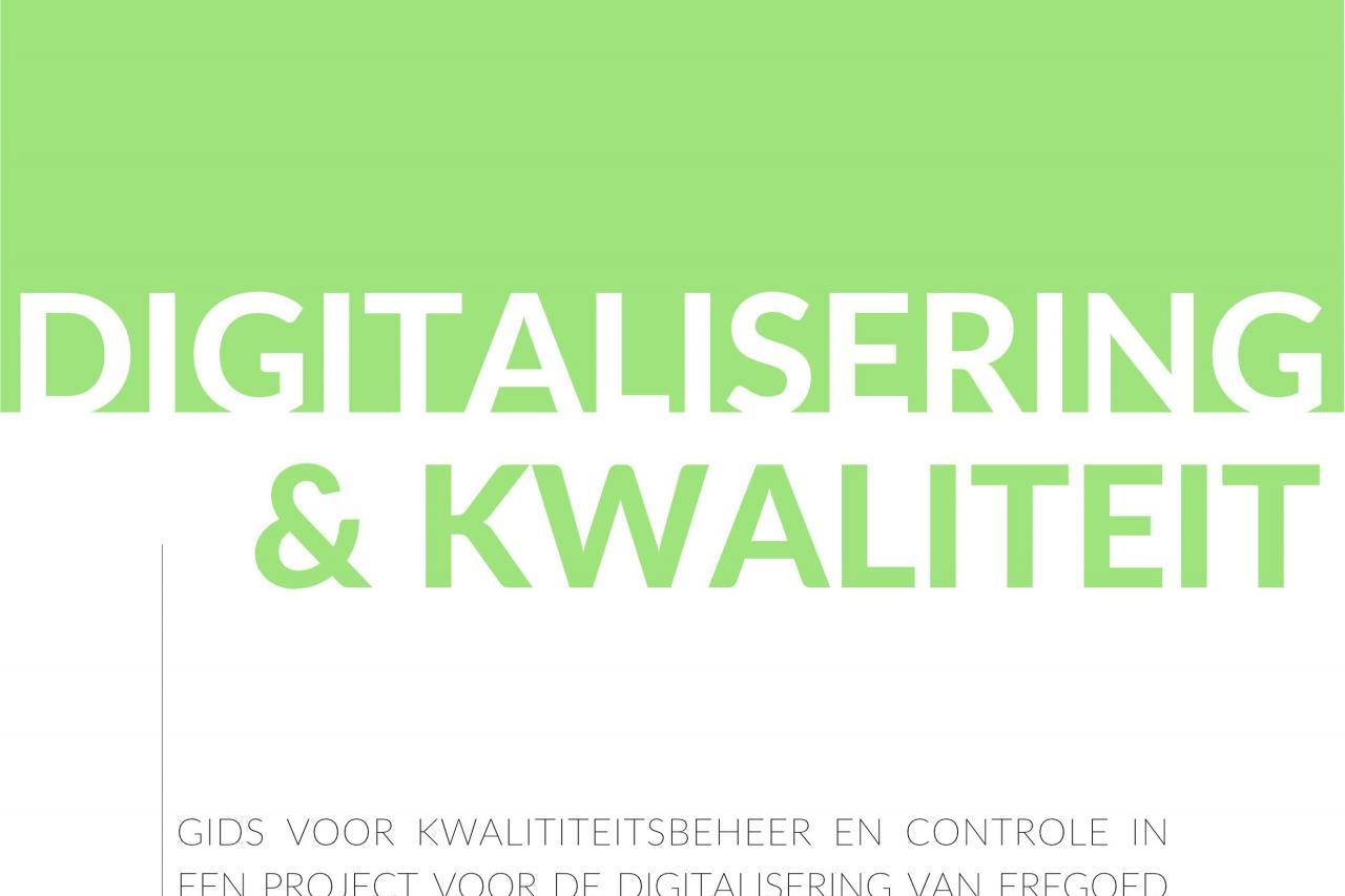 Digitalisering & Kwaliteit