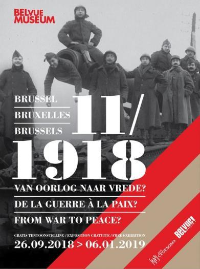 © Brussel, november 1918. Van oorlog naar vrede?